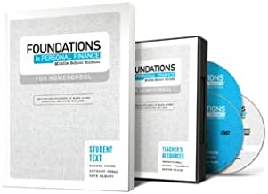 Foundations in Personal Finance: Middle School Edition for Homeschool Teacher/Student Pack
