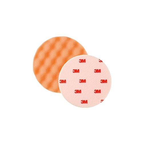 3M Perfect-it III Polierschaum genoppt - extra life, orange, Durchmesser 133mm ,2 Stück