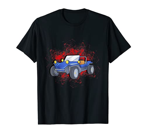 Dune Buggy Graphic Beach RC Car Truck Graphic Hombres Mujeres Niños Camiseta