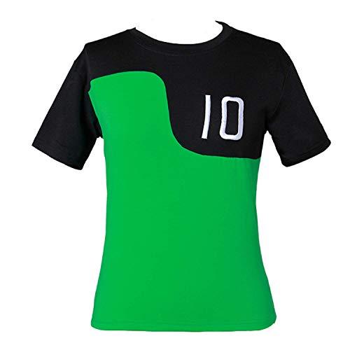 HAOCOS Kids Adult Tennyson Alien Swarm Ryan Kelly Green Synthetic T-Shirt Kids 6-8