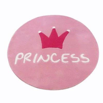 GRENSS Alfombra Redonda para habitación de niña, Princesa