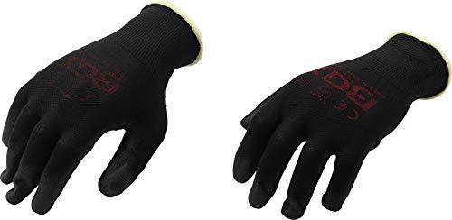 BGS 9947 | Mechaniker-Handschuhe | Größe 8 (M) | schwarz | Arbeitshandschuhe | Ideal für Reparaturen, Feinarbeiten, Automobilindustrie,...