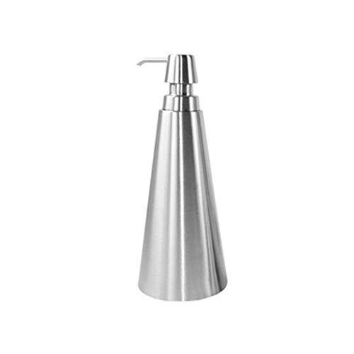Aveo Seifenspender Edelstahl-Seife Pumpen-Flasche, nachfüllbare Seifenbehälter for Bad und Küche Lotion Dispensers (Color : Stainless Steel, Größe : 750ml)