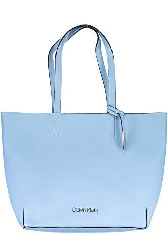 Calvin Klein STITCH EW SHOPPER, 460 K60K604844460 blue chiara