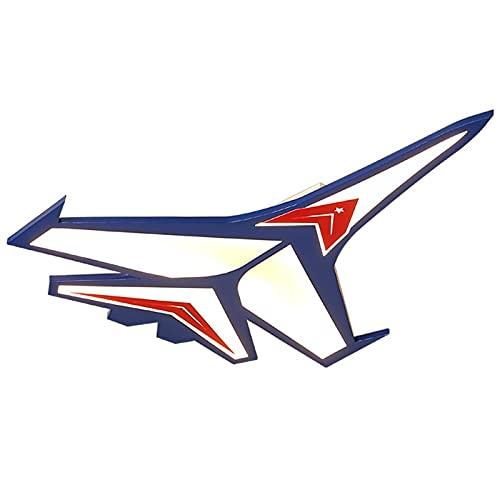 Zenghh Avión de avión Modelo de Techo LED de Techo 26 W Smart Smeled Control de Pared Fix Fix Lámpara Batalla Militar Piloto Piloto Propulsor Aviación Aviación Decoración Lana For Niño Cuarto de baño