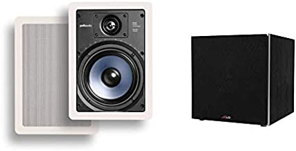 Polk Audio RC65i 2-Way Premium in-Wall 6.5
