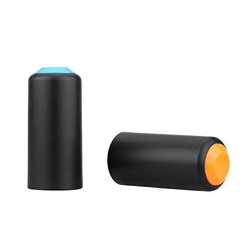 2 Colores batería Tornillo en el Casquillo Taza de la Cubierta de Shure PGX inalámbrico de Mano micrófono del Mic Altavoz Portátil Reproductor