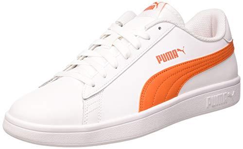 PUMA Unisex-Erwachsene Smash V2 L Sneaker, White Dragon Fire, 42 EU