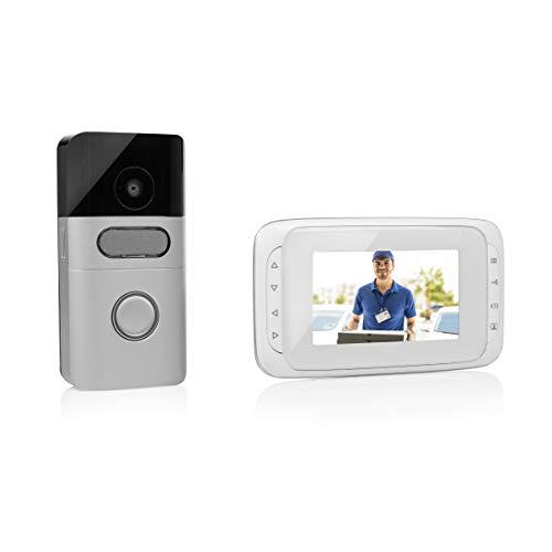 Visiophone sans Fil Byron – Ecran portable 4, 3 Pouces – Batteries rechargeables