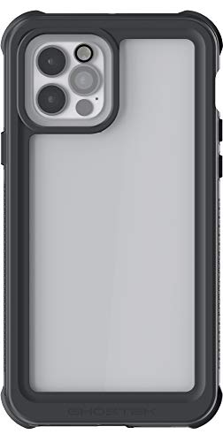 Ghostek Nautical Waterproof Designed for iPhone 12 Pro Max Case with Screen Protector Tough Heavy Duty Protection Full Body Watertight Protective Cover for 2020 iPhone12 Pro Max 5G (6.7 Inch) (Clear)