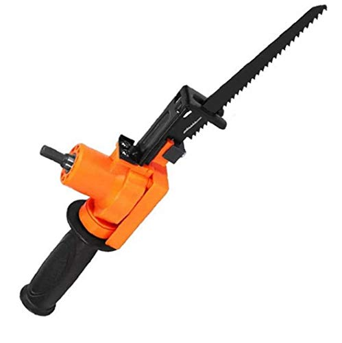 Eléctrica sierra de vaivén eléctrica motosierra alternativa Taladro para Madera Metal Herramienta rebanar Orange Accesorios de hardware para la Industria
