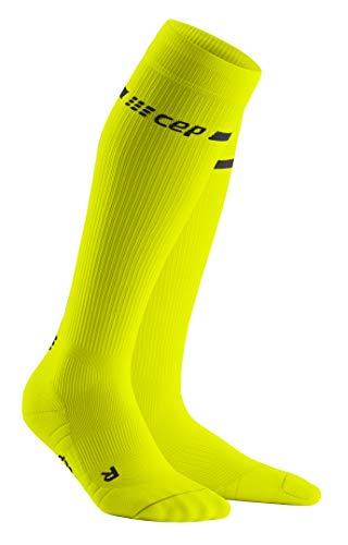 CEP Unisex-Adult x Socken, Neon Yellow, III (32-38)