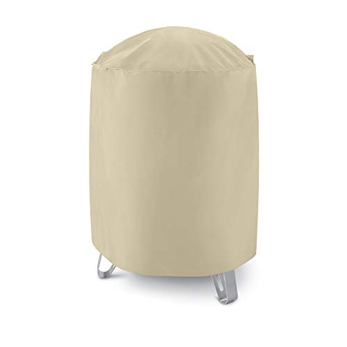 Unicook Outdoor Heavy Duty Smoker Cover, 30' Dia x 36' H, Perfect for Weber Char-Broil Smokers/Grills, Desert Sand
