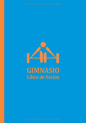 GIMNASIO: Libro Registro de Socios para Gimnasios y Recintos Deportivos
