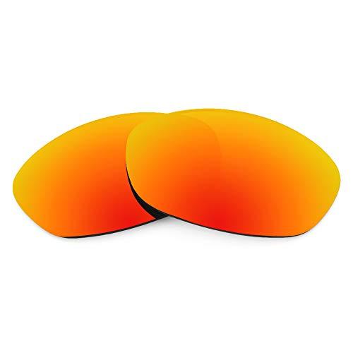 Revant Revant Ersatzgläser Kompatibel mit Oakley Fives 2.0, Polarisiert, Feuerrot MirrorShield
