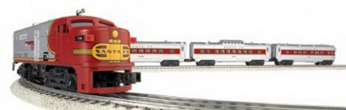 Bachmann Williams Trains - Santa Fe Flyer Complete Electric O Scale Train...