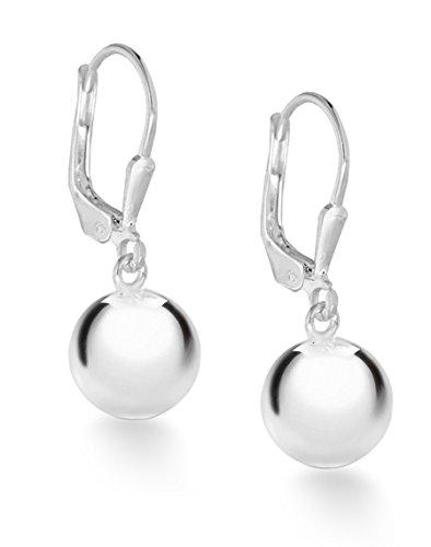 Tuscany Silver Damen - Ohrringe 925 Rundschliff Diamant 8.54.3569