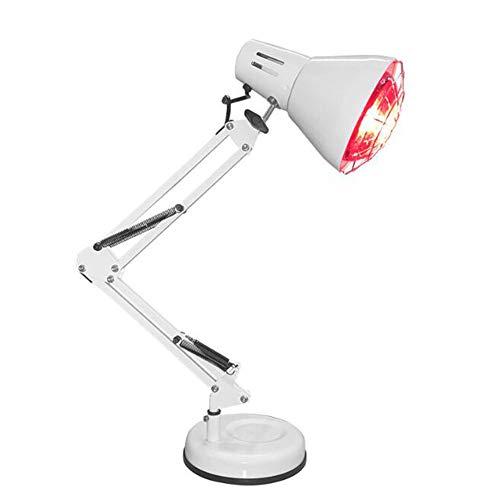 HHJY-150W Infrarotlampe Wärmelampe Zur Linderung Von Gelenkschmerzen Der Körpermuskulatur Mit Verbesserung Der Schlafdurchblutung Rücken Schulter Fingerschmerzen Zu Hause 110V