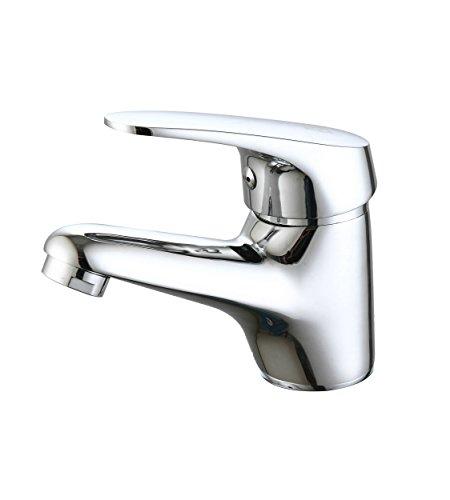 DP Grifería GSP001 Grifo de lavabo serie Limonero, Plateado