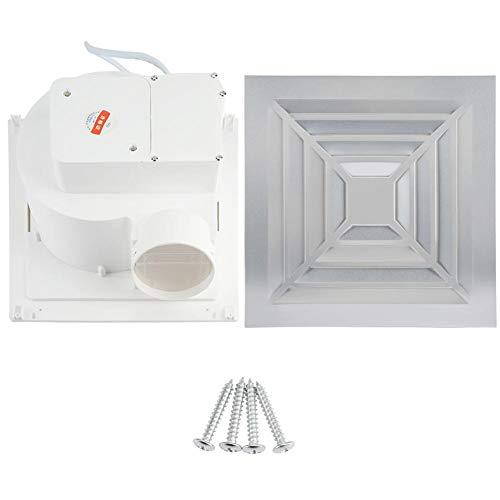 Nimoa Ventilator-Kithen Ventilador de Techo para Inodoro Ventilador de Escape Ventilador Industrial 220V, Techo Ventilador 220V