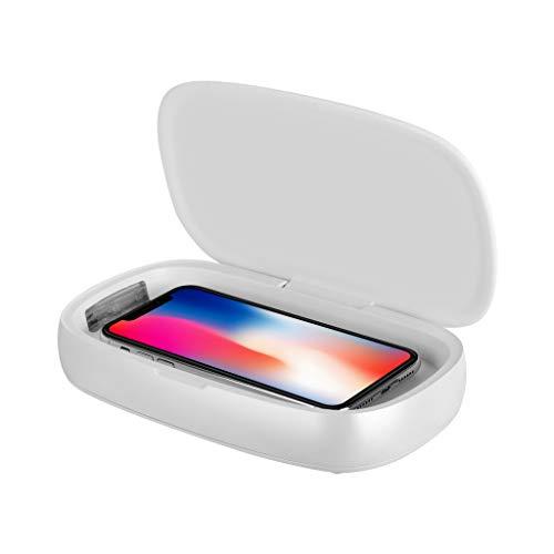 FRAUIT UV Sterilisator Box MOMAX 10W desinfectiebox lader UV-box reiniging voor masker voor mobiele telefoon Mas-Ken LED handdoek UV-licht ozon sterilisatiebox wit