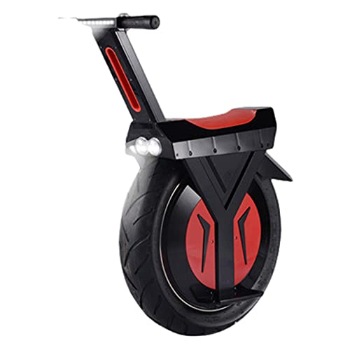 Monopattini Scooter Professionali Spinta da Freestyle Ragazzi Elettrico Elettrici Adulto 500w Monociclo Smart Somatosensoriale Ruota Singola Autobilanciante Largo,Black