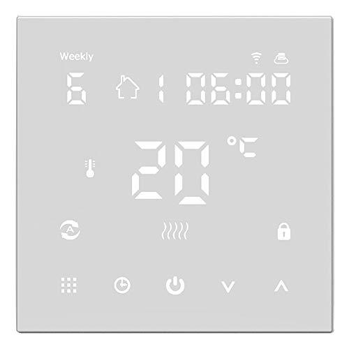 WiFi Smart-Thermostat, Temperaturregler Elektrische Fußbodenheizung Thermostate Digitale Fußbodenheizung Elektroheizung Intelligente