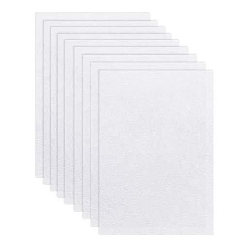 FHzytg 25 Stück Schrumpffolie Transparent Schrumpfpapier Set, Shrinky Dinks Folie Shrinking Paper Schrumpfpapier Set, Schrupffolie Set Shrink Me Transparent Shrinky Dinks Paper zum Basteln