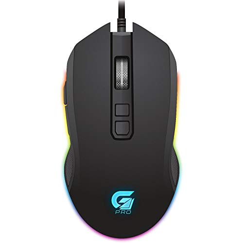 Mouse Gamer PRO M3 RGB Preto FORTREK, Fortrek, Mouses