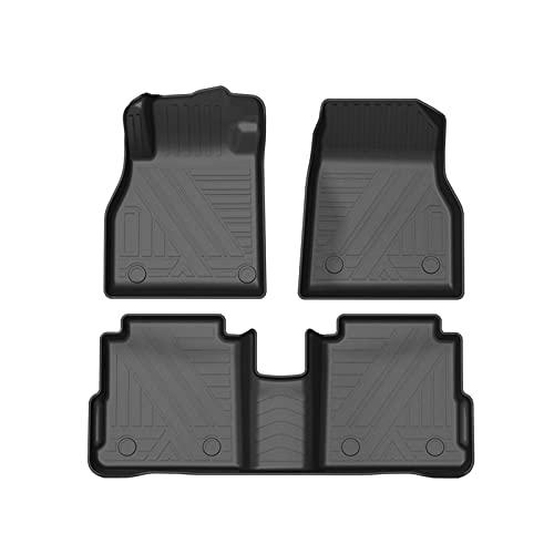 LDYN Fußmatten für NIS-San KIK-KS 2017 2018 2018 2019-2021 5Seat Auto Fußmatten Alle Wetter Deep Teller Automotive Bodenmatten Gesamtschutz 416
