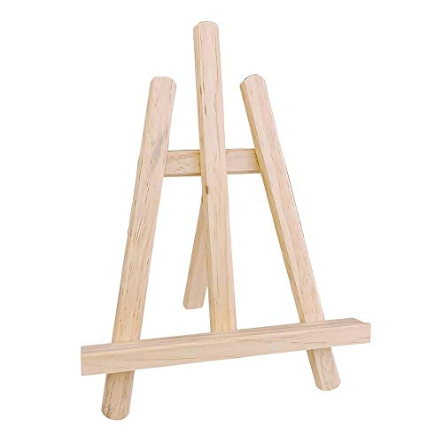 Xhtoe Caballete universal de madera mini soporte multifunción caballete de tableta StandArt & Craft Supplies