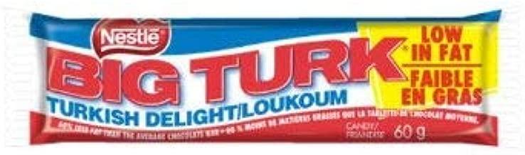 36 - Of Big Turk Chocolate Bars 2.16kg Box