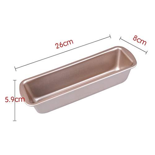 Duurzaam Cakevorm Bakken Tools Rechthoekige Pound Cake Brood Mould Non-stick Mini Toast Box Brownie Mold Handig (Size : L)