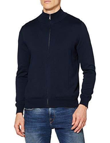 Brooks Brothers 100097923 Maglietta a Maniche Lunghe, Blu (Blue 411), X-Large (Taglia Produttore:XL -) Uomo