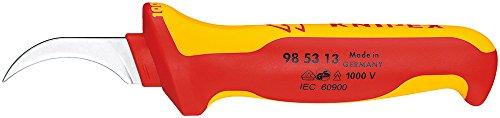 KNIPEX 98 53 13 Abmantelungsmesser für Sektorkabel 190 mm