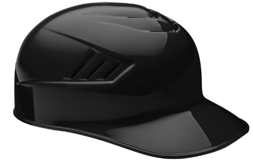 Rawlings Pro Base Coach Helmet (Black, 6 7/8)