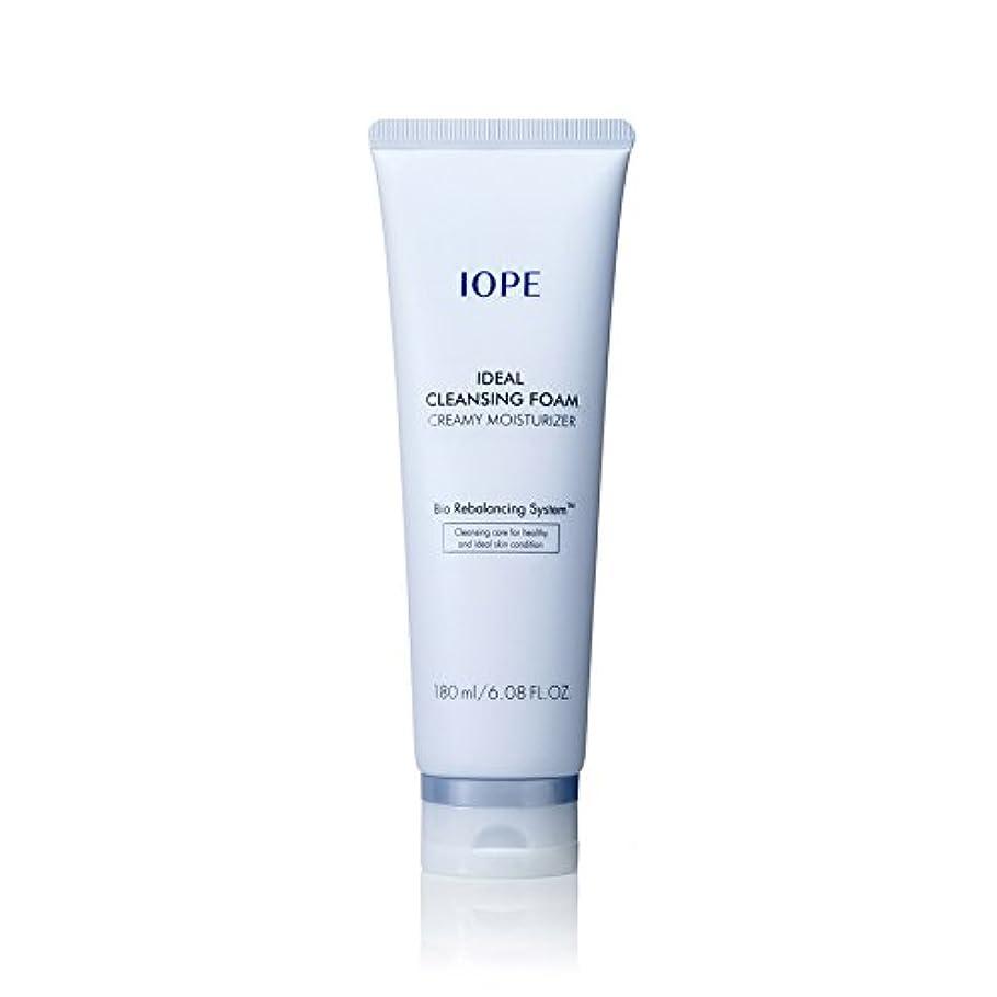 味方頬キャプチャー[New Ver.] IOPE Ideal Cleansing Foam Creamy Moisturizer 180ml/アイオペ アイディアル クレンジングフォーム クリーミー モイスチャライザー 180ml [並行輸入品]