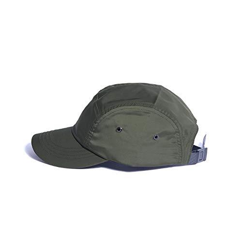 Clape Outdoor Sport Baseball Hat Running Visor Summer Sun Hat Caps,GD51-Green