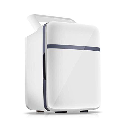 LONGJUAN-C coches Portátil de 10 litros, coches Calefacción y refrigeración del coche de caja Refrigerador del coche mini refrigerador del coche pequeño refrigerador, de doble núcleo. Refrigerador