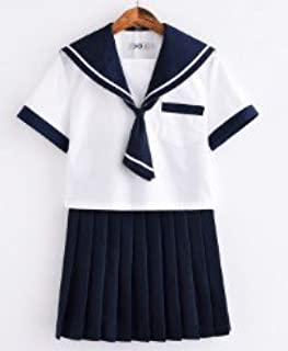 (sunlike)本物感抜群のセーラー服⑱TVドラマ チアダン制服 名門お嬢様学園風 (L)