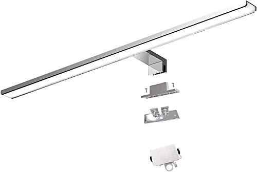 Cywer espejo pared | Lampara de espejo | espejos de bano | cuadros para el bano| aplique espejo bano| espejo bano con luz | 56cm | IP44 | 10.8w | 1000lm | 230V espejo del cuarto de bano