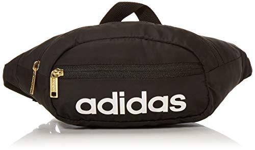 adidas Unisex Core Waist Pack, Black/White/Gold, ONE SIZE
