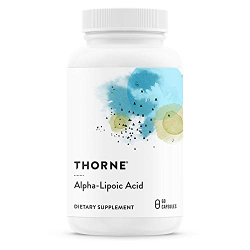 Thorne Research - Thiocid-300 - Alpha Lipoic Acid Supplement (300 mg) for Antioxidant Support - 60 Capsules