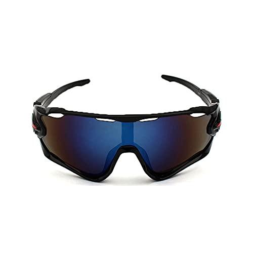 Oacvien Gafas de Sol Polarizadas con 3 Lentes Intercambiables para Ciclismo Bicicleta Running Deportes Protección UV 400 Anti Viento para Hombre y Mujer Conducción de Pesca al Aire Libre