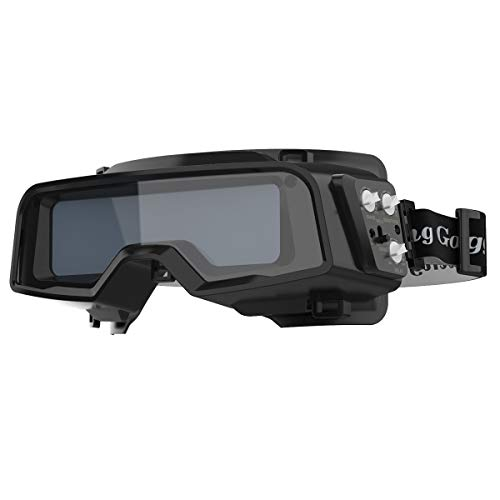YESWELDER True Color Auto Darkening Welding Goggles,Wide Shade Range 4/5-9/9-13 with Grinding, Welding Glasses Welder Mask Welding Helmet for TIG MIG ARC Plasma Cut