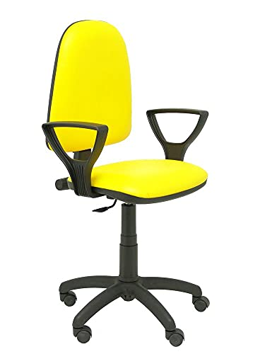 Piqueras Y Crespo 04CPSPV26BGOLF krzesło biurowe, stałe, żółte