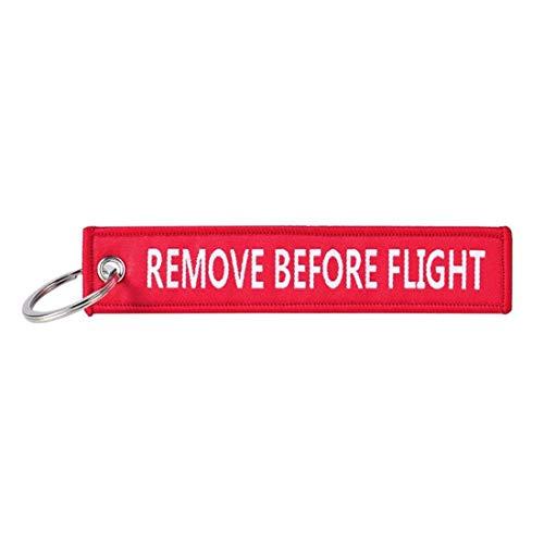 Portachiavi militare Remove Before Flight Aeronautica Aviazione