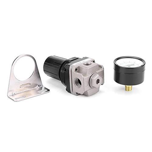 Shipenophy Regulador de presión de Aire Regulador neumático Rendimiento Estable Conexión Duradera G1 / 4