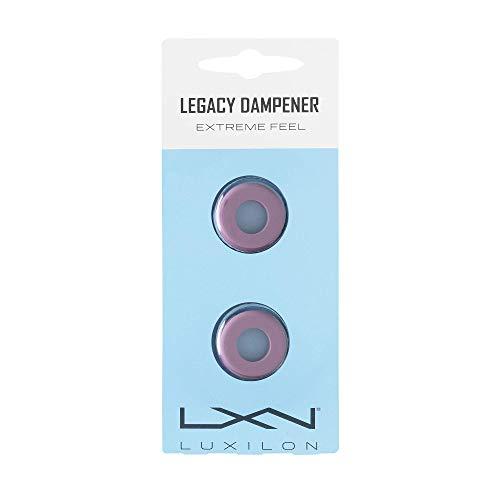 Luxilon WRZ538000 Antivibrazioni Legacy Dampener, per Racchetta da Tennis, Lila, 2 Unità