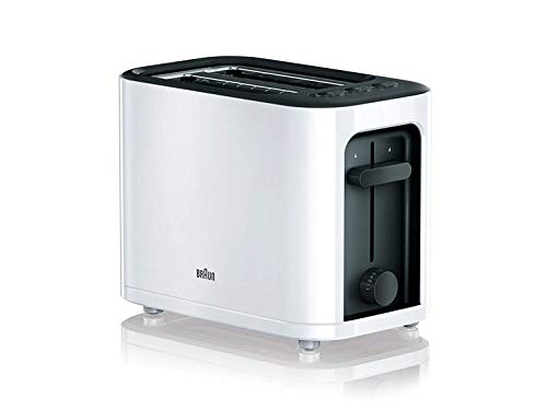 Braun Purease Serie 3 HT3000BK stainless steel Toaster, 7 variable browning settings, reheat & defrost function, highlift &removable crumb tray - Black